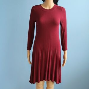 Soft&Sexy American Eagle Outfitters Burgundy Dress